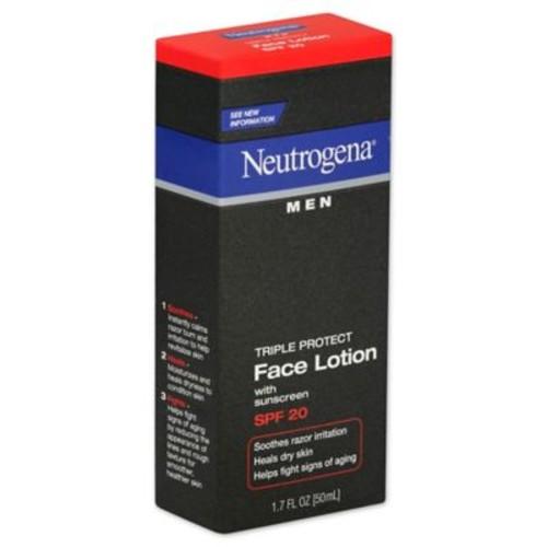 Neutrogena Men 1.7 oz. Triple Protect Face Lotion Broad Spectrum SPF 20