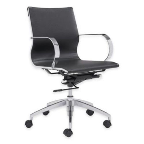 Zuo Glider Low-Backed Office Chair