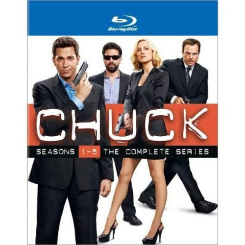 Chuck: The Complete Series [17 Discs] [Blu-ray]