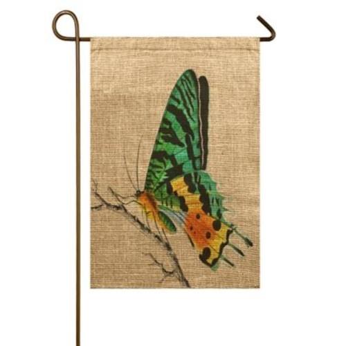 TheWatsonShop Butterfly Garden Flag