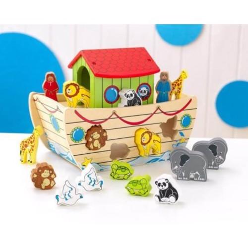 KidKraft Noah\'s Ark Shape Sorter