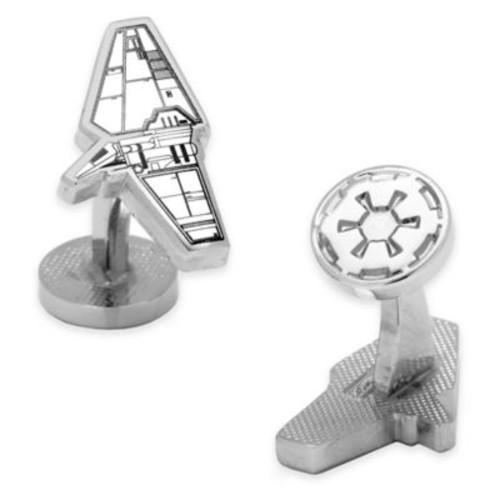 Star Wars Silver-Plated Imperial Shuttle Blueprint Cufflinks