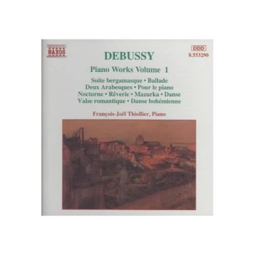 Debussy Piano Works, Vol. 1