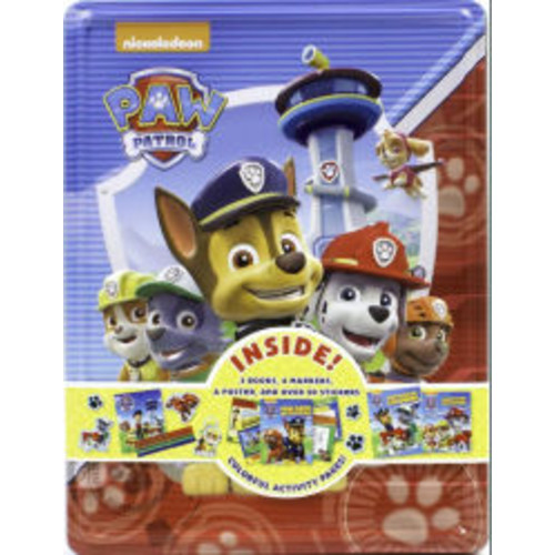 Nickelodeon Paw Patrol Collector's Tin