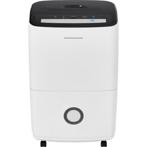 Frigidaire 70-Pint Dehumidifier with Built-in Pump in White