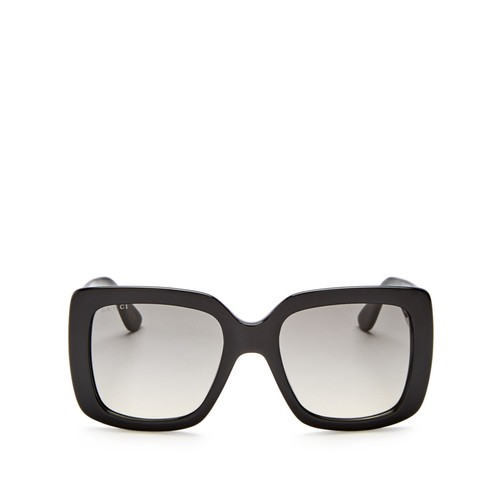 GUCCI Oversized Square Sunglasses, 53Mm