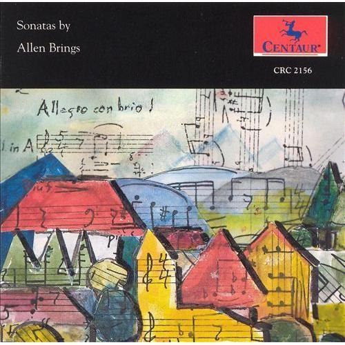 Sonatas by Allen Brings [CD]