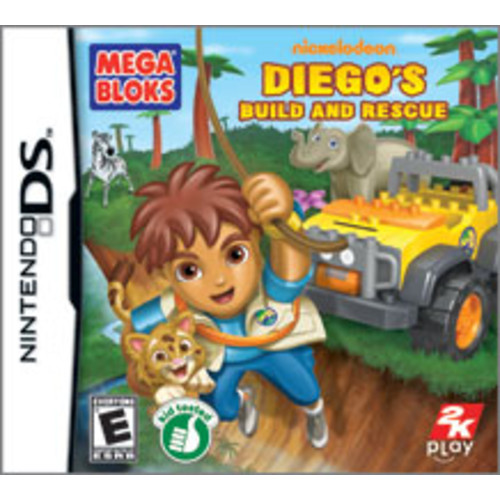 Mega Bloks Diego's Build and Rescue [Pre-Owned]