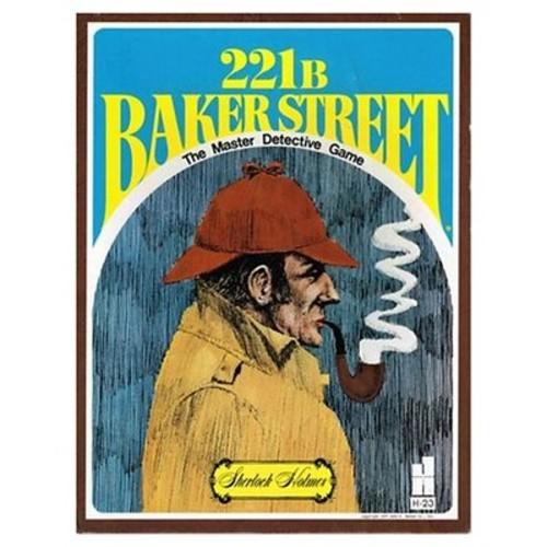 Sherlock Holmes 221B Baker Street Board Game