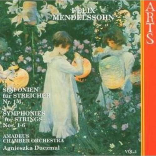 Mendelssohn: Symphonies for Strings, Nos. 1-6 [CD]