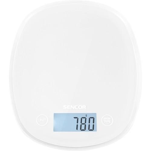 Sencor - Pastel Kitchen Scale - Snowdrop white