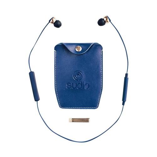 Sudio - Wireless In-Ear Headphones - Blue