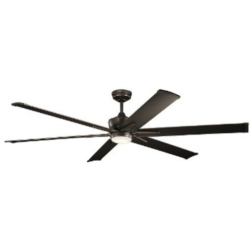 Szeplo II LED Ceiling Fan [Fan Body and Blade Finish : Olde Bronze; Fan Blade Span (inches) : 60]