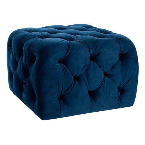 Kenan Ottoman in Navy design by Safavieh
