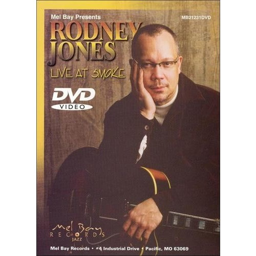 Rodney Jones: Live at Smoke [DVD] [English]