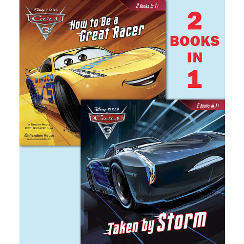 Disney Pixar Cars 3 How to Be a Great Racer and Taken By Storm 2-in-1 Book