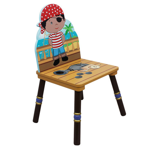 Fantasy Fields Pirates Island Table with 4 Chairs Set