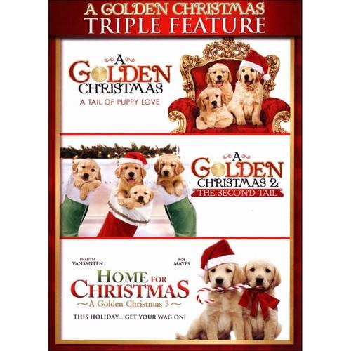 A Golden Christmas: Triple Feature [2 Discs] [DVD]