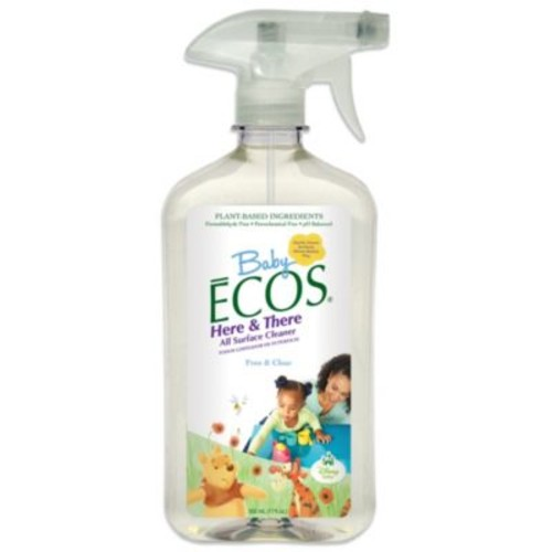 Disney Baby Baby ECOS 17-Ounce Free & Clear Here & There All Surface Cleaner