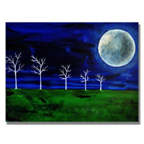 Trademark Fine Art 'Blue Moon' 18