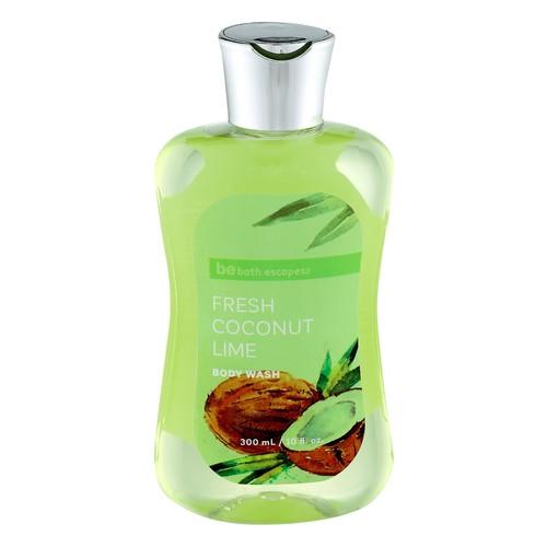 be bath escapes Fresh Coconut Lime Body Wash 10 fl oz.