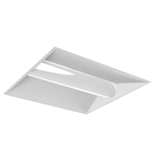 Halco Lighting Technologies 32-Watt White 2 ft. x 2 ft. Volumetric Panel Integrated LED Luminaire Troffer
