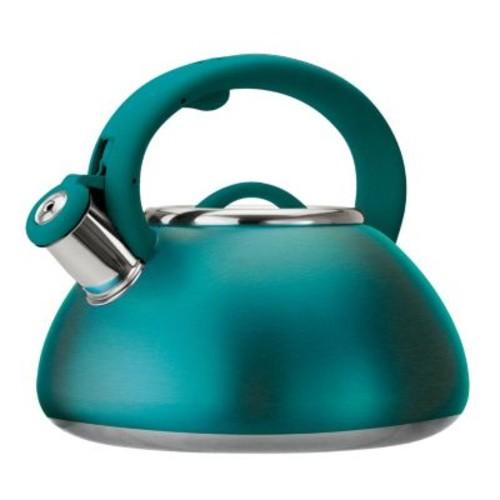 Primula Avalon 2.5 Qt Whistling Kettle - Matte Teal - 2.5 quart Kettle - Stainless Steel