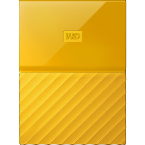 1TB My Passport USB 3.0 Secure Portable Hard Drive (Yellow)