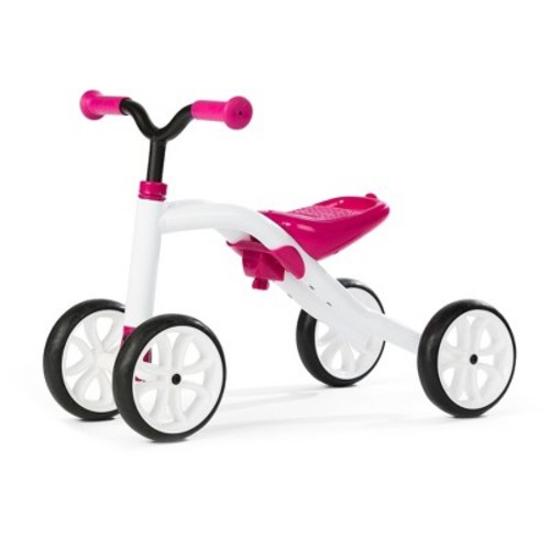 Chillafish Kid's Quadie Grow-With-Me Ride On Bike - Pink