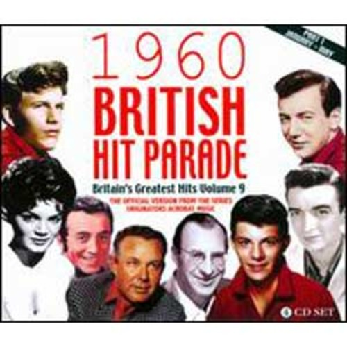 1960 British Hit Parade: Britain's Greatest Hits Vol. 9, Pt. 1 By Various Artists (Audio CD)