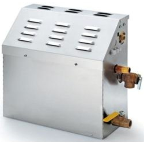 SteamSpa 6 KW QuickStart Steam Bath Generator with Built-in Auto Drain