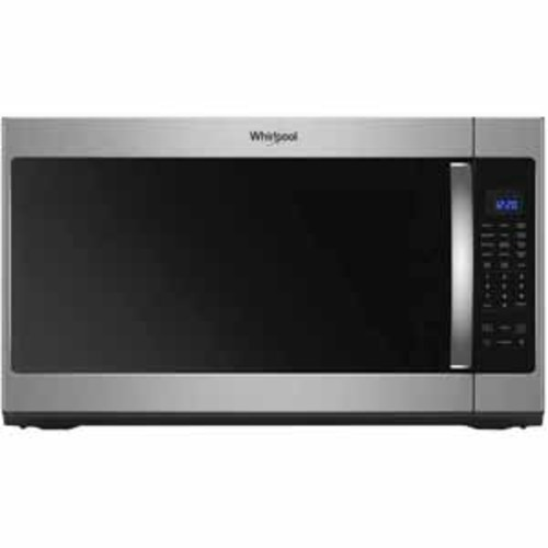 Whirlpool 2.1 cu. ft. Over the Range Microwave with Steam Cooking - Fingerprint Resistant Stainless Steel
