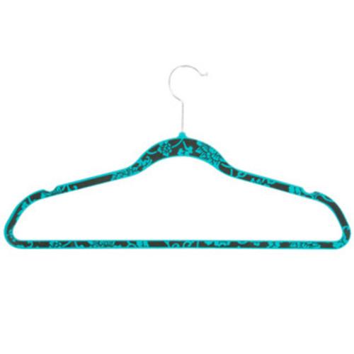 Honey-Can-Do HNG-03821 Pink Cheetah Velvet Hangers (20-pack)