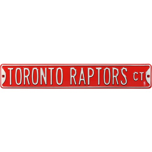 Authentic Street Signs Toronto Raptors Court Sign