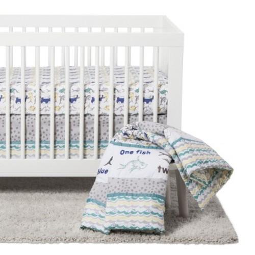 Dr. Seuss by Trend Lab Crib Bedding Set 5pc - New Fish