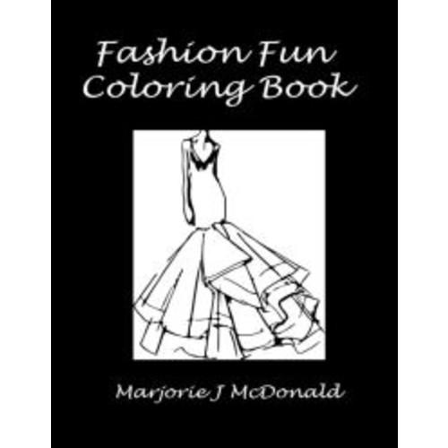 Fashion Fun Coloring Book