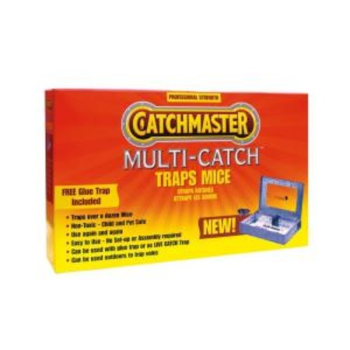 Catchmaster Multi-Catch Metal Mouse Trap