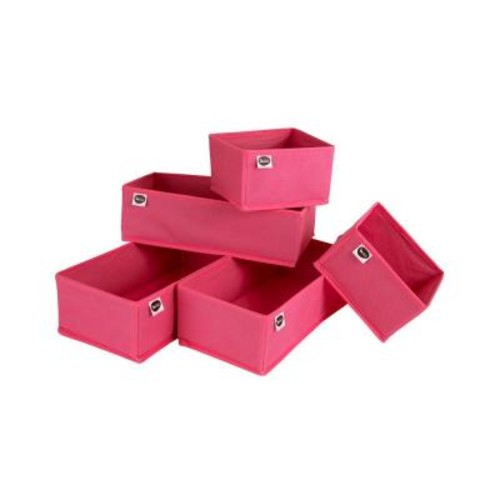 South Shore Storit Pink Drawer organizers