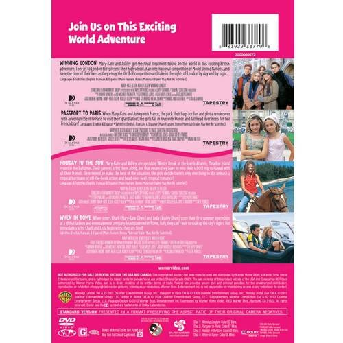 4 Kid Favorites: Mary-Kate & Ashley Travel World [4 Discs] (DVD)