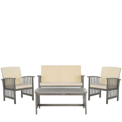 Safavieh Rocklin 4-Piece Outdoor Set