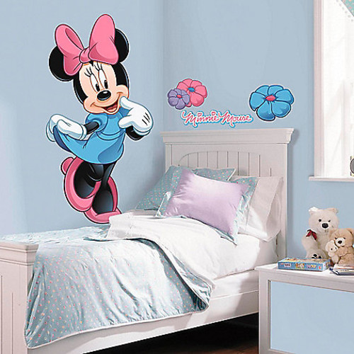 Disney Mickey and Friends Minnie Mouse Giant Peel and Stick Wall Decals