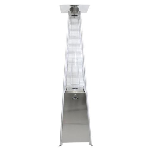 Dyna-Glo 42,000 BTU Stainless Steel Pyramid Flame Gas Patio Heater