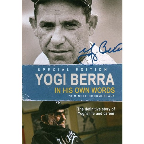 Yogi Berra: In His Own Words [DVD] [2003]