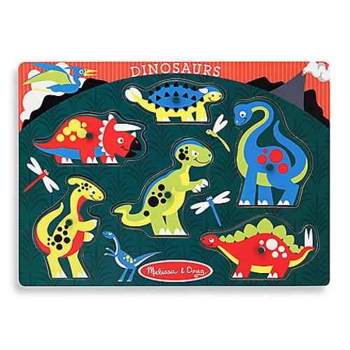 Melissa & Doug Dinosaur Peg Puzzle