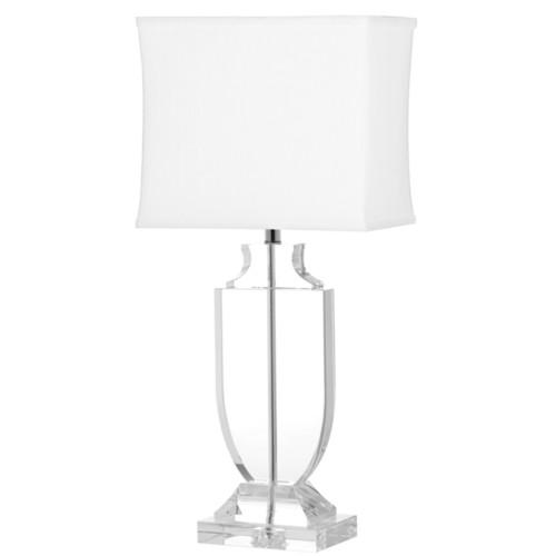 Safavieh Deirdre Clear Glass 26-inch Urn Table Lamp