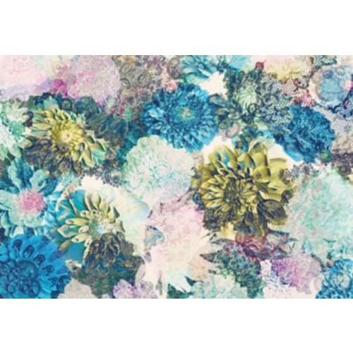 WallPops! Komar Frisky Flowers 12.08' x 100'' Wall Mural