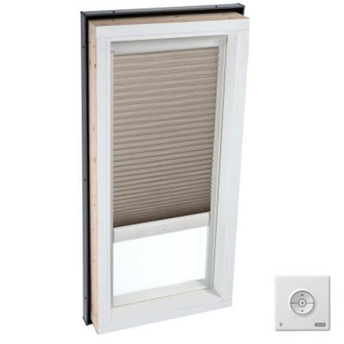 VELUX Solar Powered Light Filtering Cappuccino Skylight Blind for FCM 2230 and QPF 2230 Models