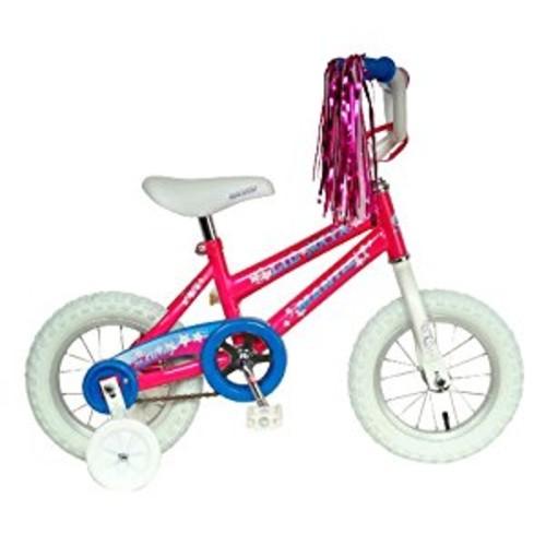 Mantis Lil Maya 12 Kids Bicycle [White/Pink, 12-Inch]