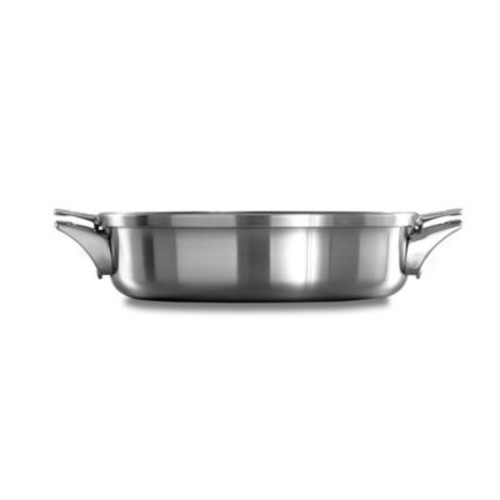 Calphalon Premier Space Saving Stainless Steel 5 qt. Sauteuse with Lid