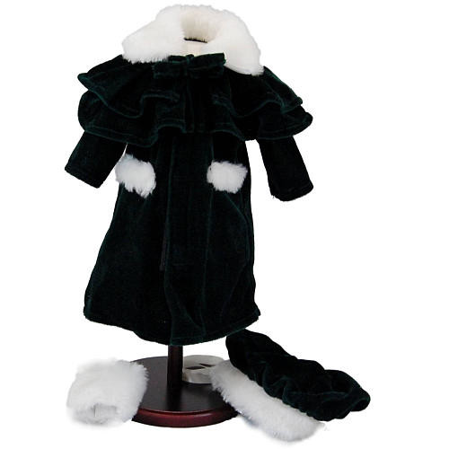 The Queen's Treasures 1914 American Style Outerwear Winter Coat Set for 18 inch Doll